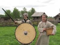 Славянская деревня. Превращение в славян